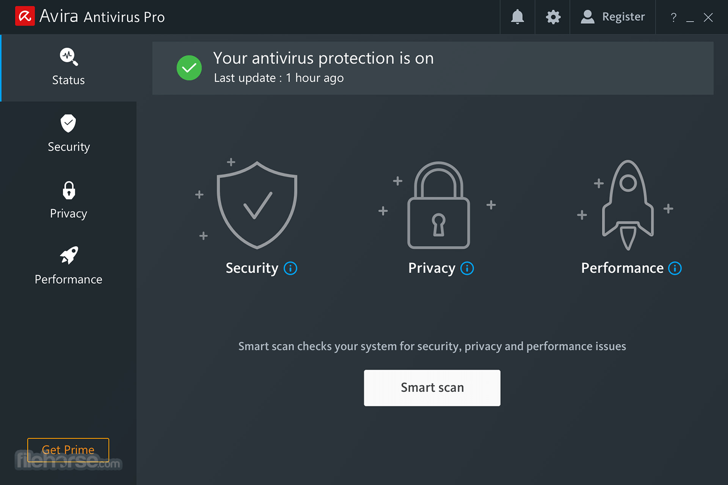Avira Antivirus Pro 15.0.34.17 Screenshot 1