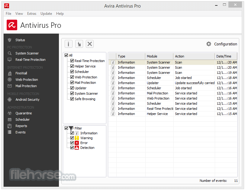 Avira Antivirus Pro 15.0.34.17 Screenshot 4