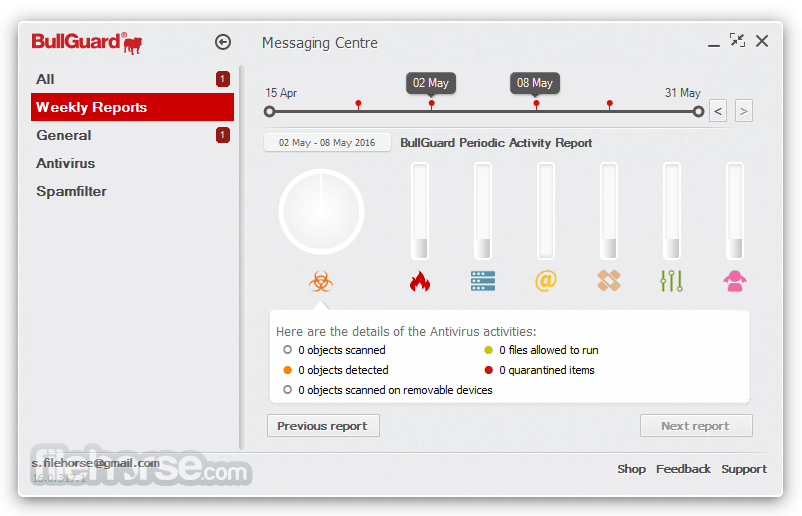 BullGuard Antivirus 18.0.345.3 Screenshot 2