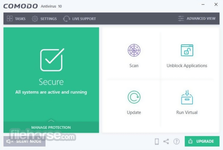 Comodo Antivirus 10.1.0.6476 Screenshot 1