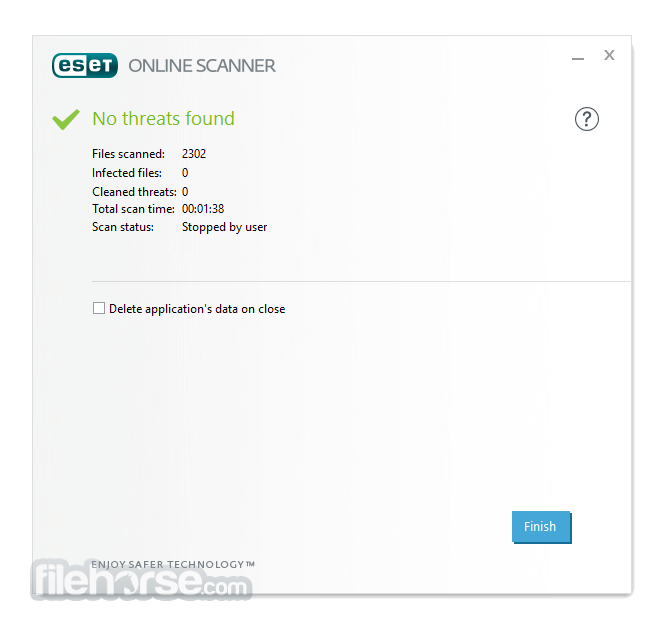 ESET Online Scanner 3.2.6.0 Screenshot 3