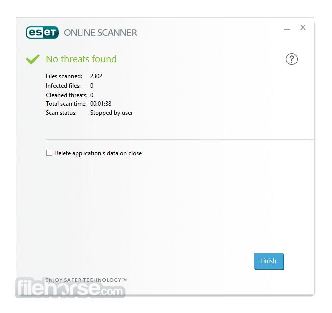 ESET Online Scanner 2.0.17.0 Screenshot 3
