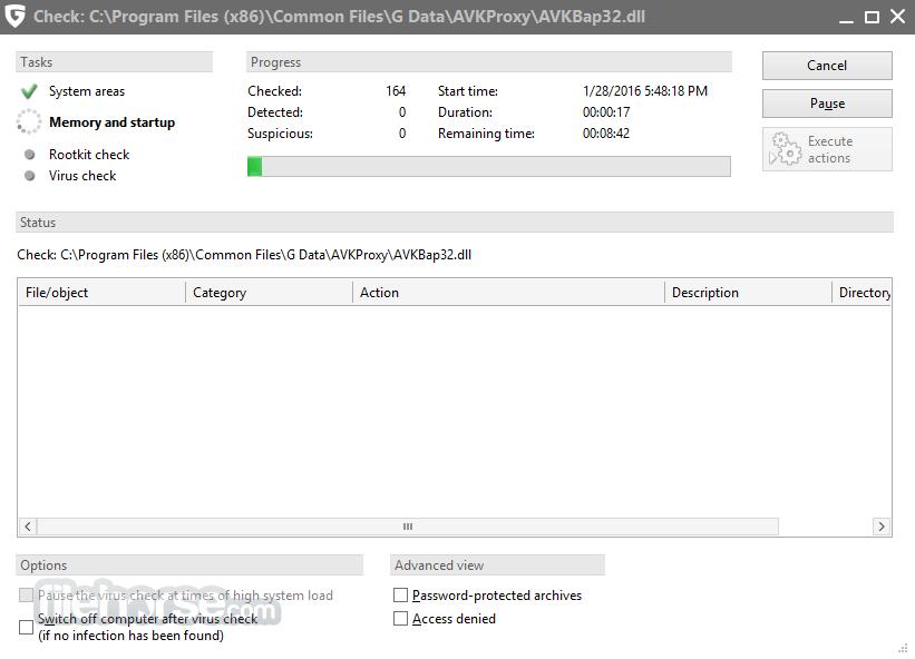 G DATA AntiVirus 25.4.0.3 Screenshot 4