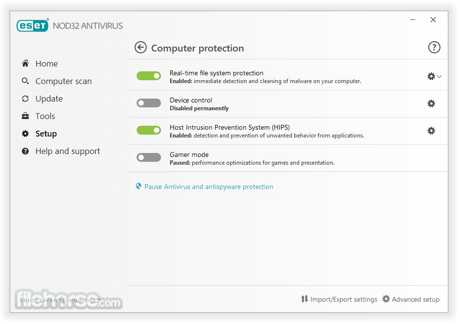 NOD32 AntiVirus 11.1.54.0 (64-bit) Captura de Pantalla 4