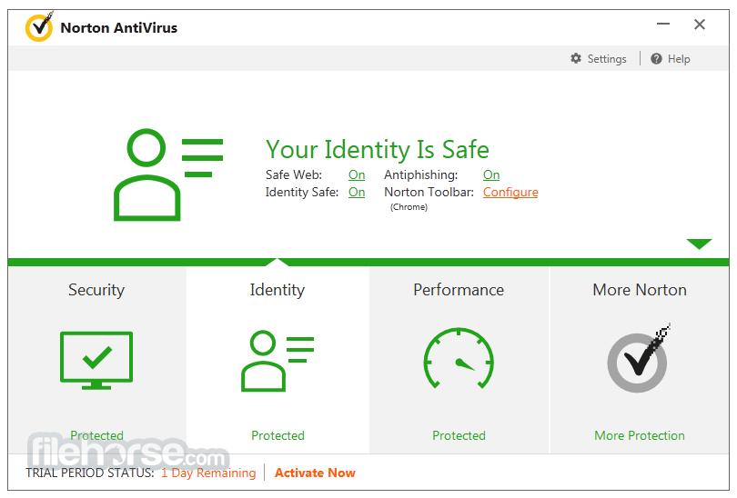 Consumer antivirus software providers for Windows