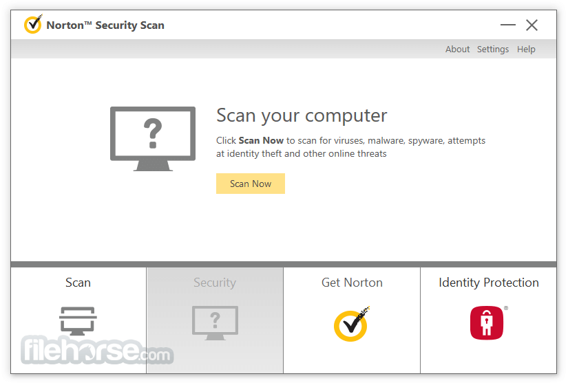 Norton Security Scan 4.6.1.124 Captura de Pantalla 1