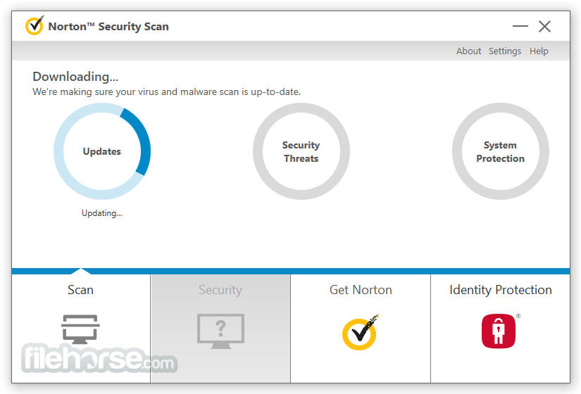 Norton Security Scan 4.6.1.124 Captura de Pantalla 2