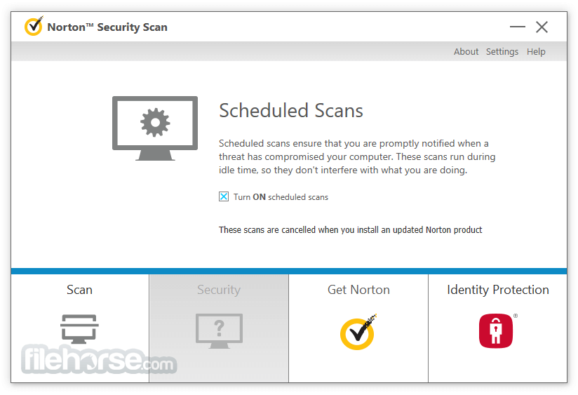 Norton Security Scan 4.6.1.124 Captura de Pantalla 5