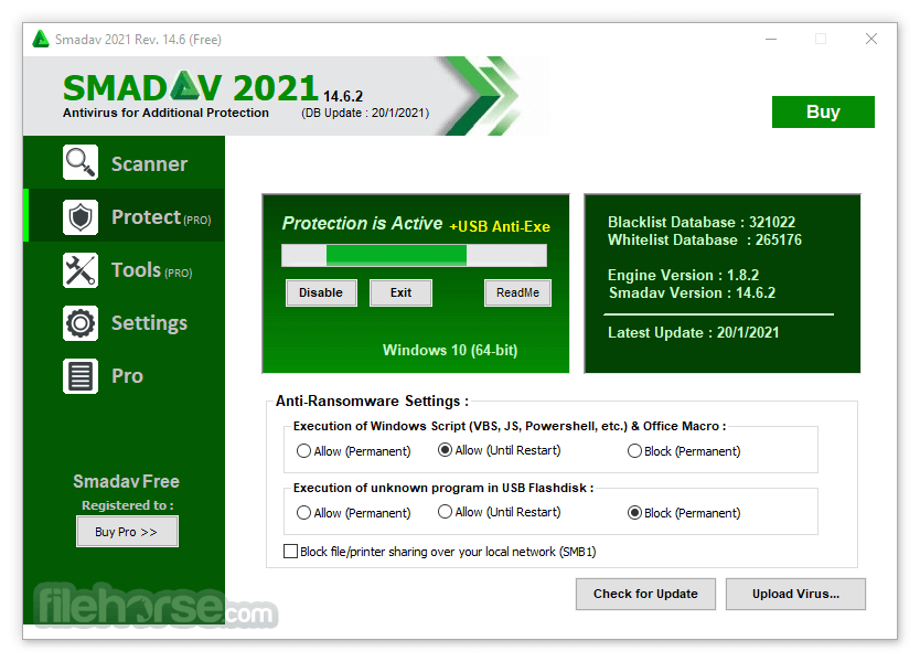 Smadav Antivirus 2018 Rev 11.8 Screenshot 3