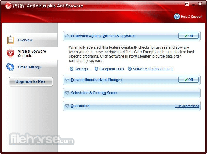 Trend Micro Antivirus+ 17.0.1150 Screenshot 3