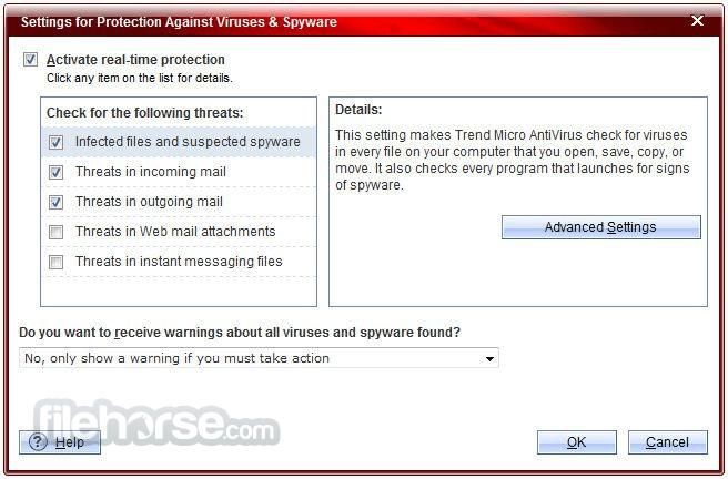 Trend Micro Antivirus+ 12.0.1153 (64-bit) Captura de Pantalla 4