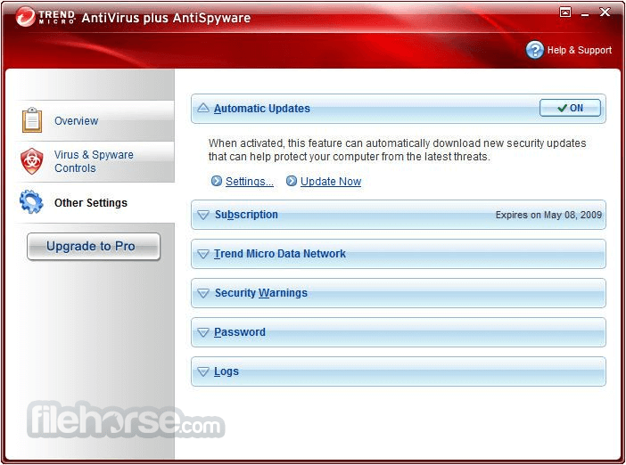 Trend Micro Antivirus+ 12.0.1153 (64-bit) Captura de Pantalla 5