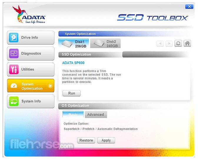 ADATA SSD ToolBox 3.0.12 Captura de Pantalla 4