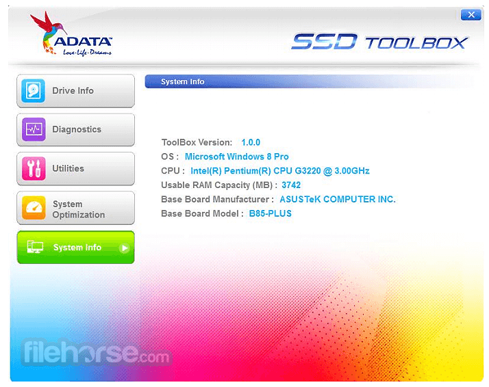 ADATA SSD ToolBox Download (2019 Latest) for Windows 10, 8, 7