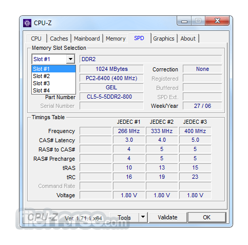 CPU-Z 1.82.1 Screenshot 4