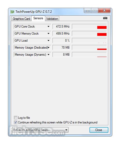 GPU-Z 2.10.0 Captura de Pantalla 3