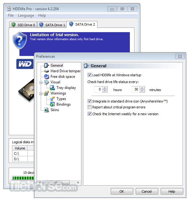 HDDLife Pro 4.2.204 Screenshot 3