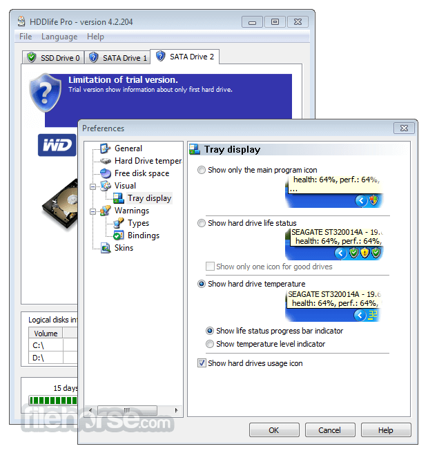 HDDLife Pro 4.2.204 Screenshot 4