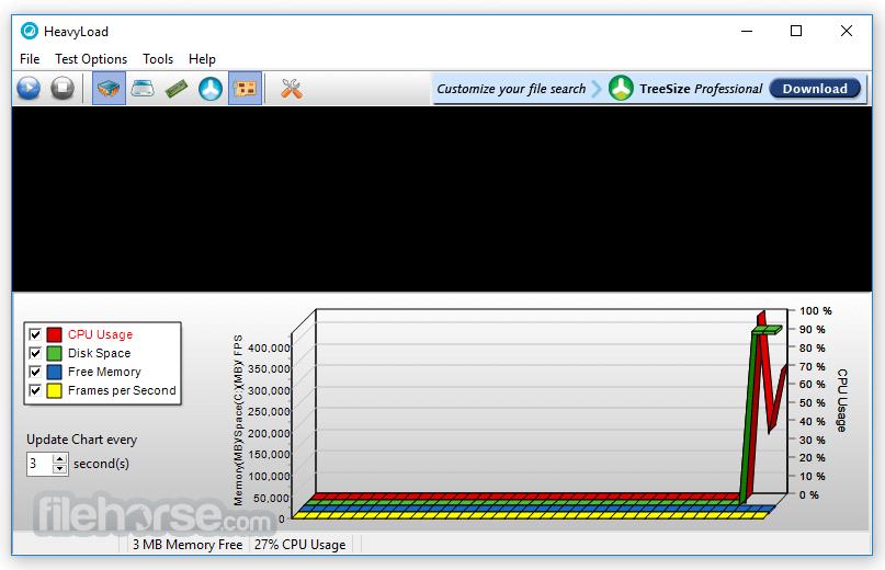 HeavyLoad 3.4.0.234 (64-bit) Screenshot 1