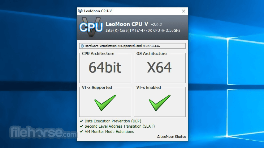 LeoMoon CPU-V 2.0.4 Screenshot 1
