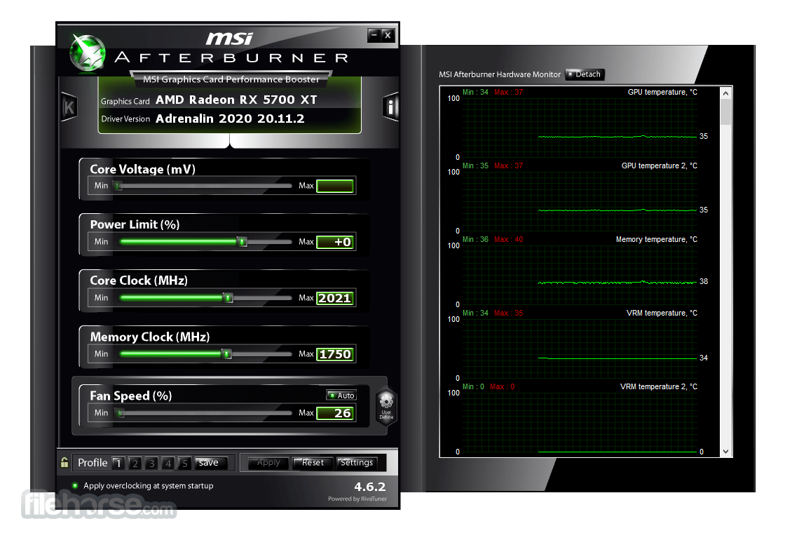 msi afterburner 4.1.0