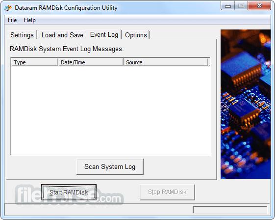 RAMDisk 4.4.0 RC 36 Screenshot 3