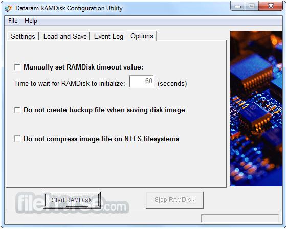 RAMDisk 4.4.0 RC 36 Screenshot 4
