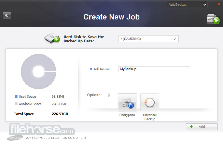 Samsung Drive Manager 1.0.175 Screenshot 2