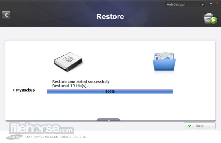 Samsung Drive Manager 1.0.175 Screenshot 4
