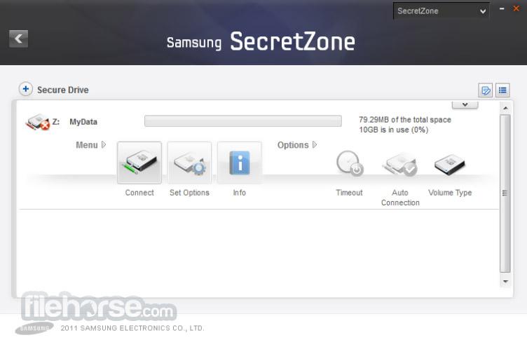 Samsung Drive Manager 1.0.175 Screenshot 5