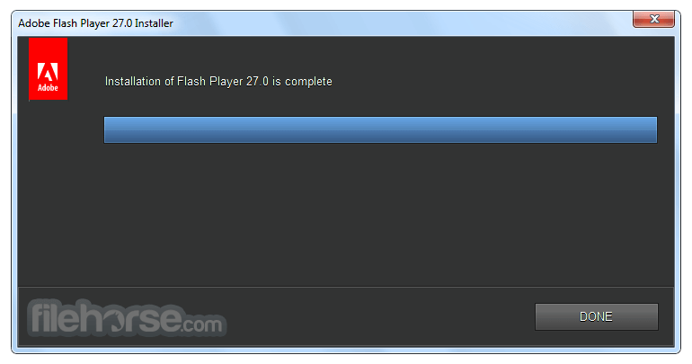 Flash Player 28.0.0.137 (IE) Captura de Pantalla 3