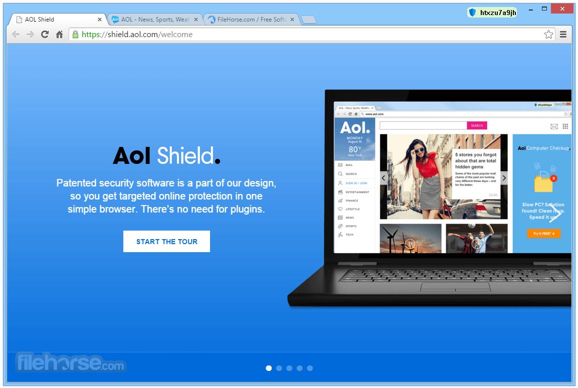 AOL Shield Browser 60.0.2879.0 Screenshot 1