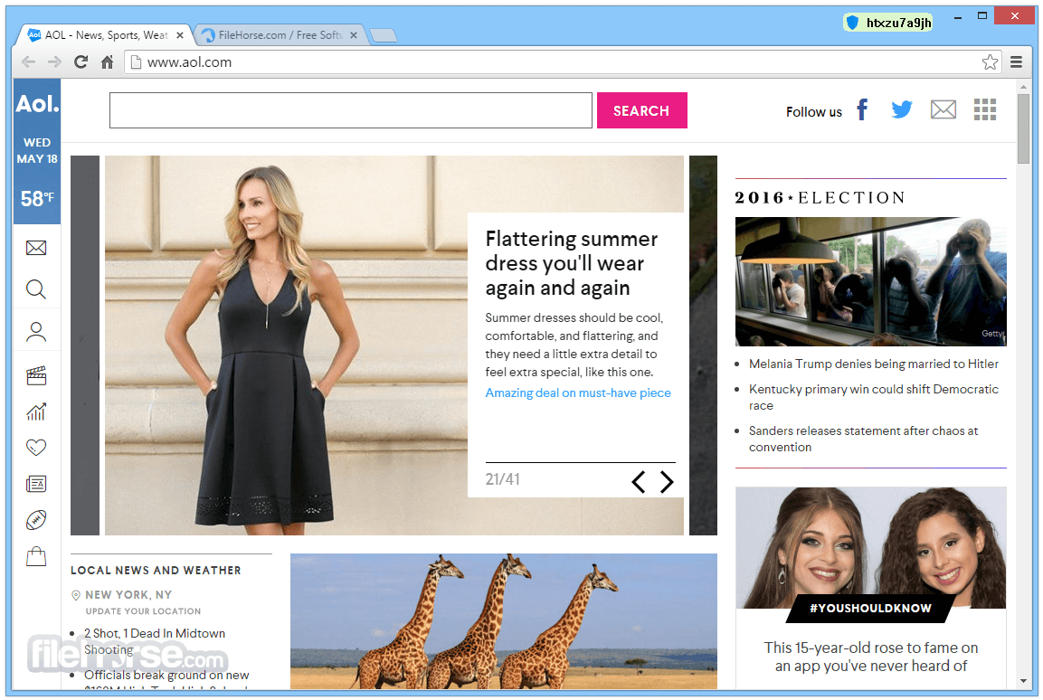 AOL Shield Browser 60.0.2879.0 Screenshot 2