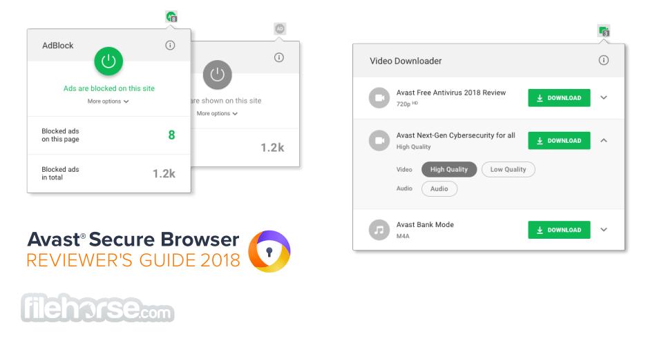 Avast Secure Browser 80.1.3902.163 Screenshot 2