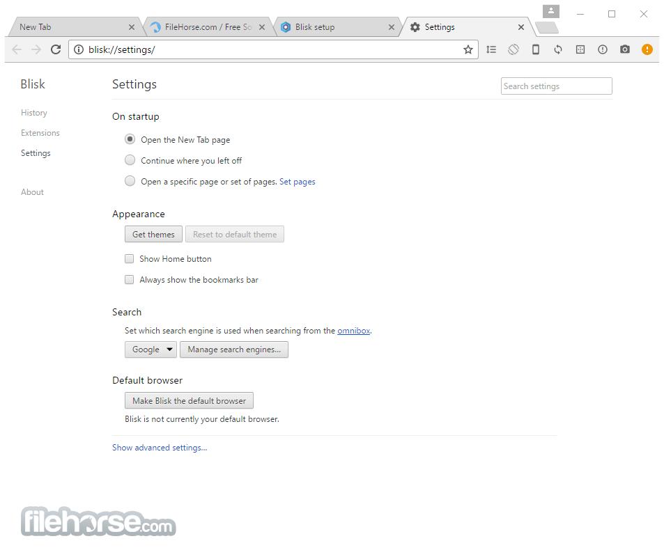 Blisk 7.0.244.188 Screenshot 4