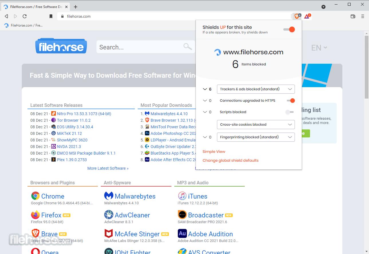 Brave Browser 0.19.134 Dev (32-bit) Screenshot 2