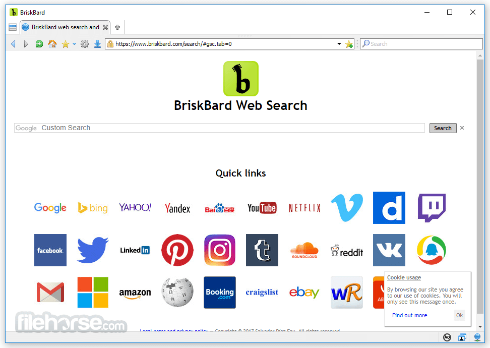 BriskBard 2.5.0 Screenshot 1