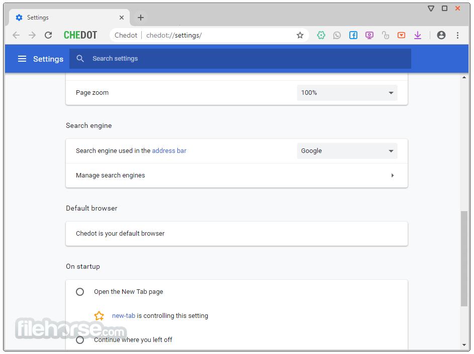 Chedot Browser Screenshot 4