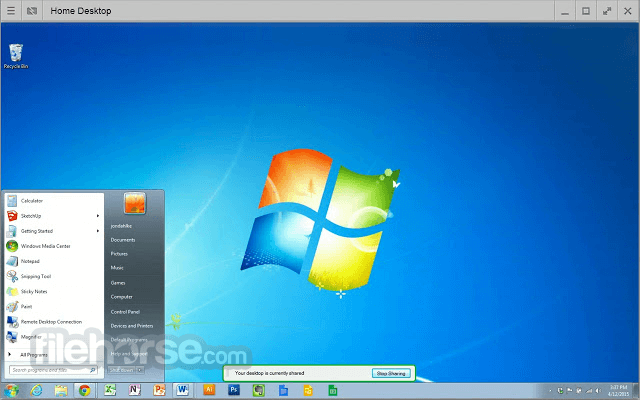 Chrome Remote Desktop Captura de Pantalla 4