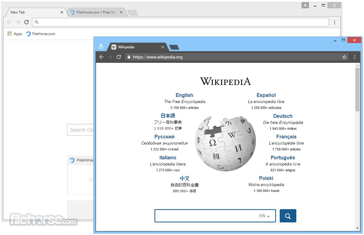 Chromium 69.0.3494.0 Screenshot 2