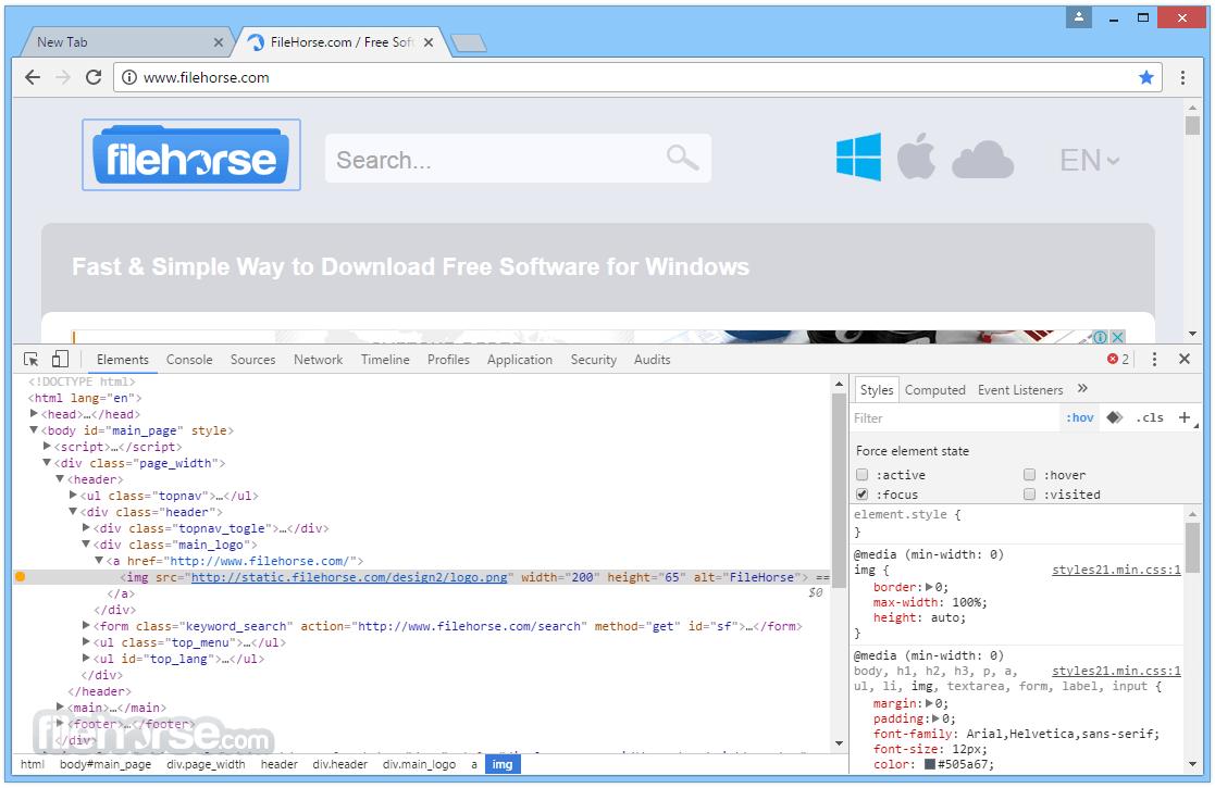 Chromium 69.0.3494.0 Screenshot 3