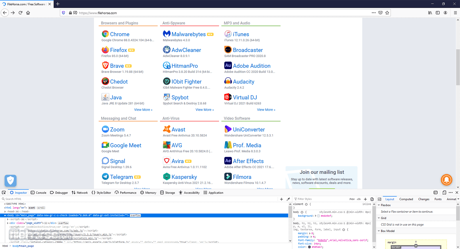 Firefox 56.0.1 (32-bit) Screenshot 2