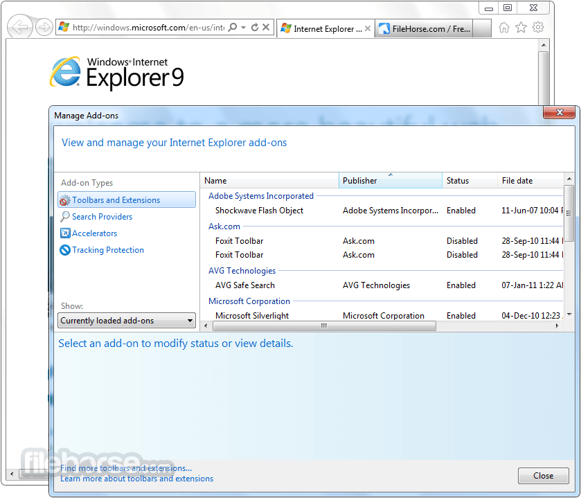 Internet Explorer 9.0 Beta (Windows 7 32-bit) Screenshot 4