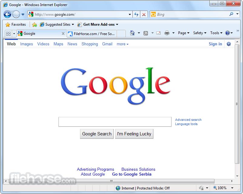 Internet Explorer 8 Download Windows Xp