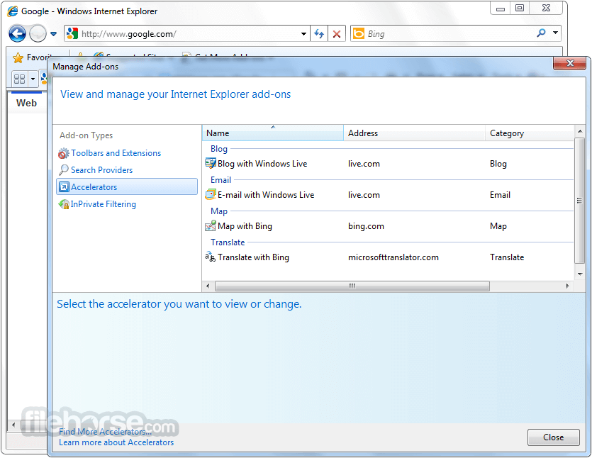 What is the latest version of Internet Explorer