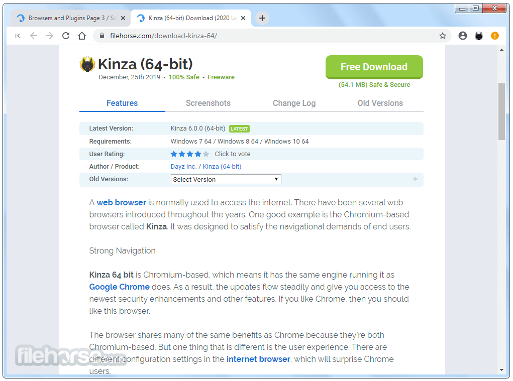 Kinza 6.3.3 (32-bit) Screenshot 4