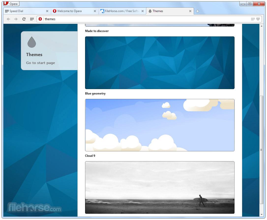 Opera 48.0 Build 2685.50 (32-bit) Screenshot 4