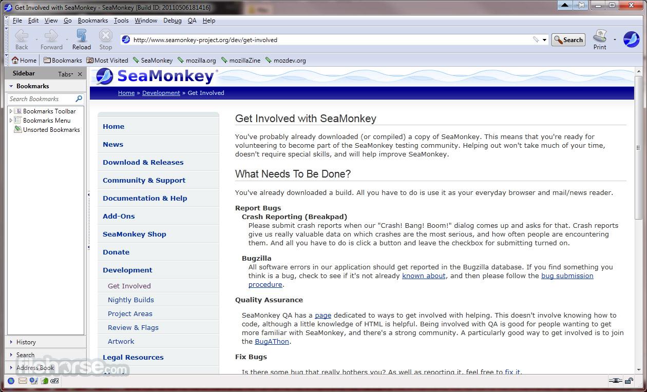SeaMonkey 2.39 Screenshot 1