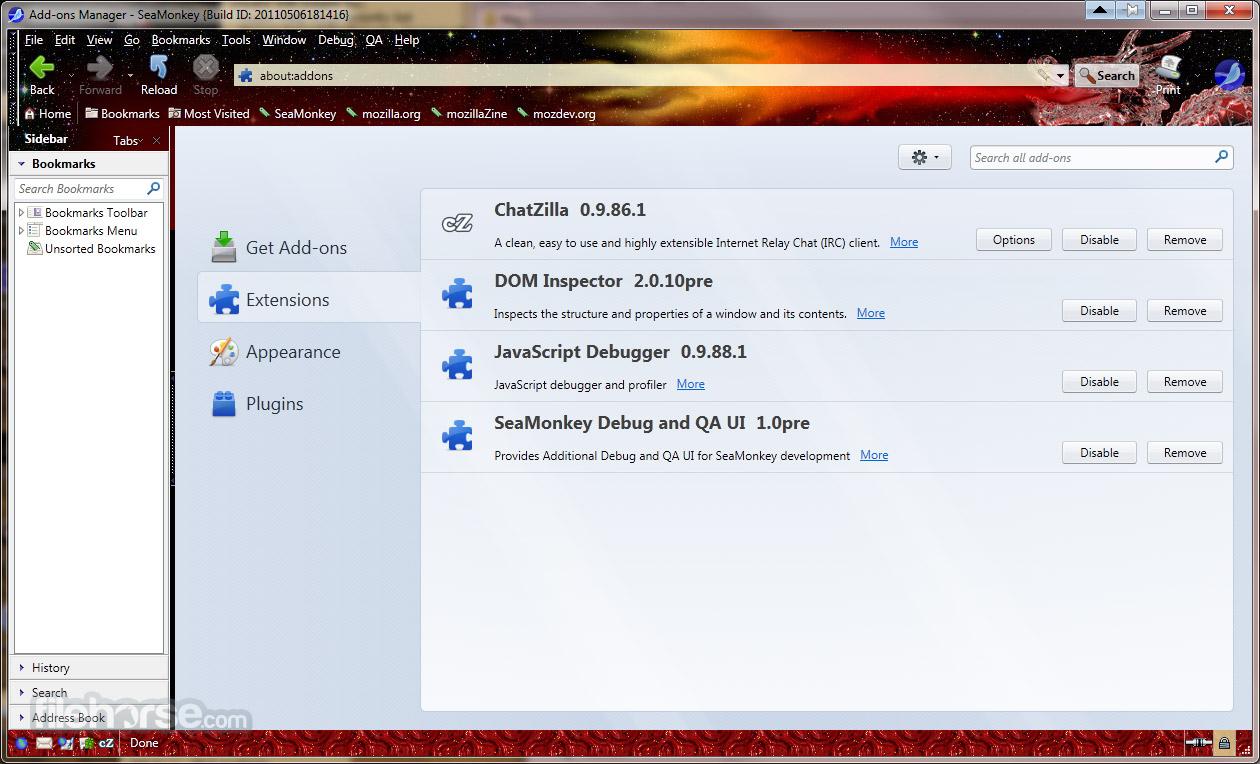 SeaMonkey 2.39 Screenshot 2