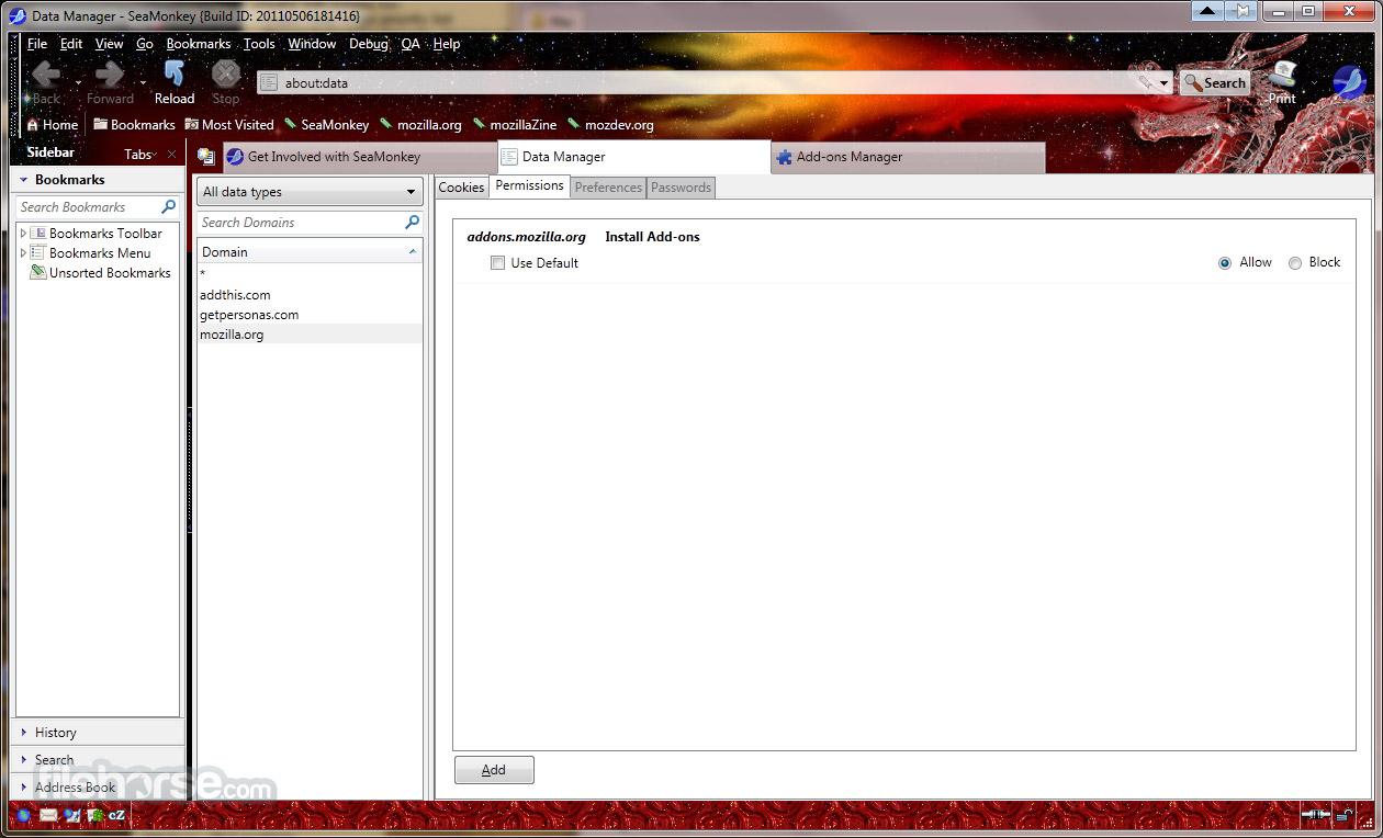 SeaMonkey 2.39 Screenshot 3